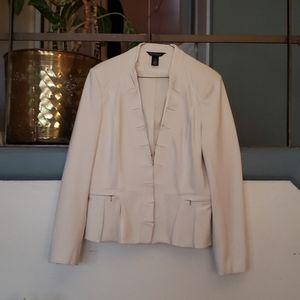 White Blouse Black Market jacket